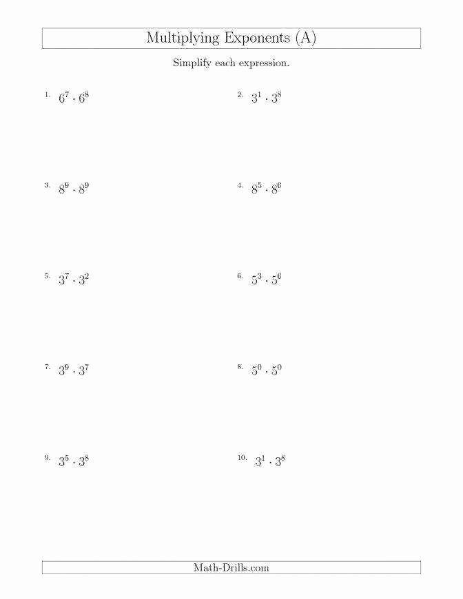 Simplifying Rational Expressions Worksheet Inspirational Simplifying Exponents Worksh Exponent Worksheets Rational Expressions Simplifying Rational Expressions Multiplying rational expressions worksheet