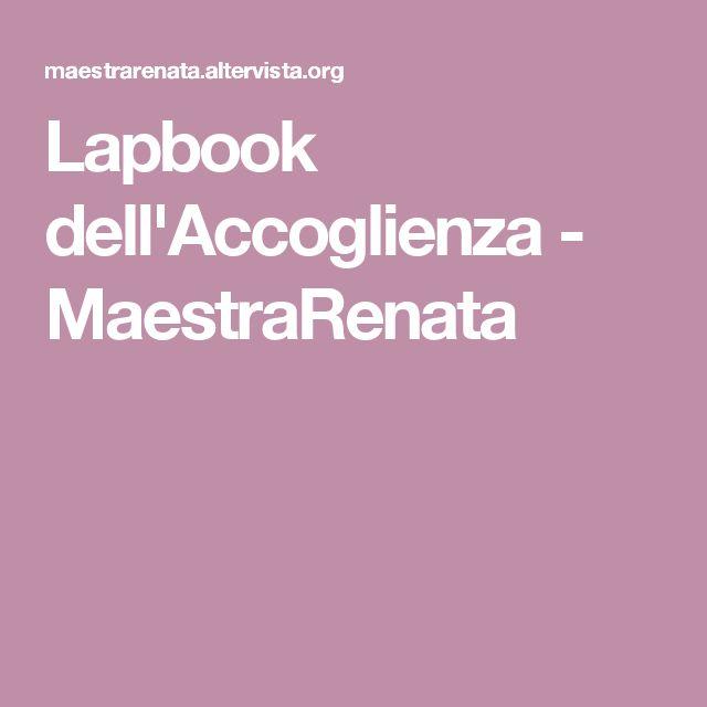 Lapbook dell'Accoglienza - MaestraRenata