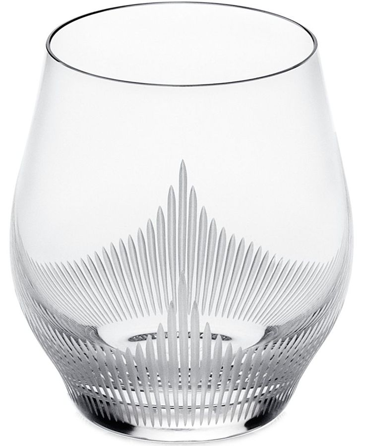 Lalique 100 Points Old-Fashioned Glass Set