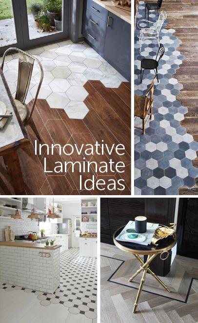 40 best innovative laminate ideas images on pinterest for Innovative flooring ideas