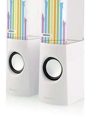 "Altavoz Agua LED multimedia fountain ""Dancing Water"" para iPod iPad iPhone MP3  Oferta:€15.99"