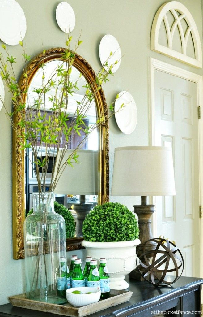 Summer Decor Ideas best 25+ sideboard decor ideas on pinterest | entry table