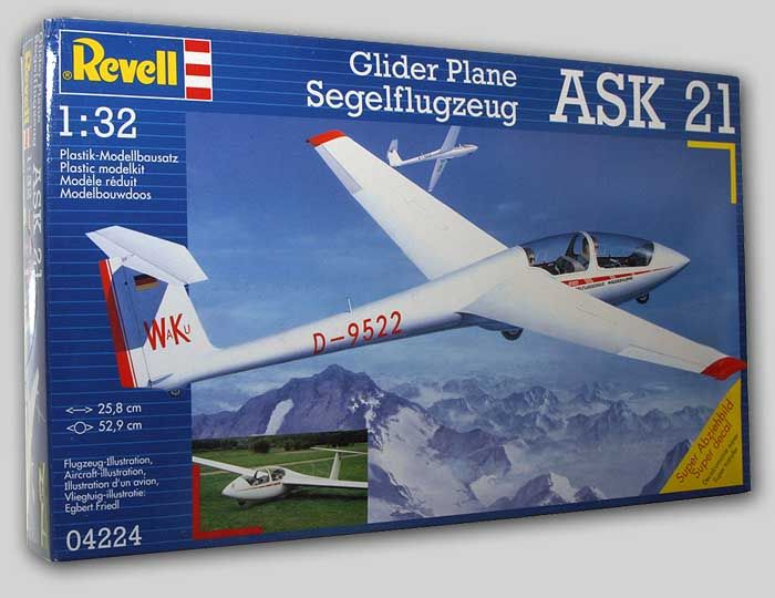 ASK 21 2-Seat Sailplane - 1/32 Revell of Germany Kit