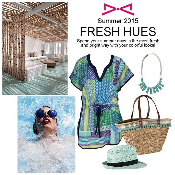 Fresh Hues for summery looks ready to impress all and make you feel awesome! #achilleas_accessories