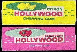 Le chewing-gum Hollywood en tablettes... et plein de sucre! - Enfance