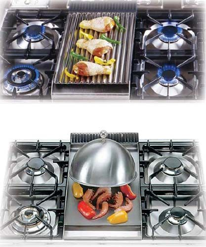 modern kitchen stoves from italy