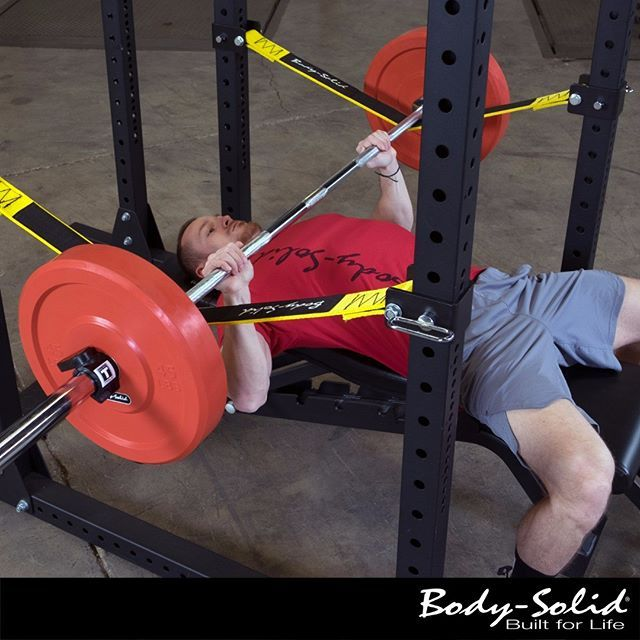 Body-Solid Power Rack Strap Safeties are specifically designed to offer user safety on heavy lifts while protecting Olympic bars and keeping your power rack looking brand new. Learn more at bodysolid.com or click link in bio.  #powerrack #powerracks #powerrackstraps #strapsafeties #safeties #powerracksafeties #homegym #homegyms #garagegym #garagegyms #gym #gyms #bodysolid #builtforlife
