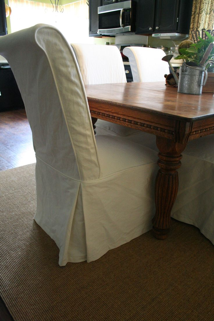 Best 25+ Chair slipcovers ideas on Pinterest | Dining room ...