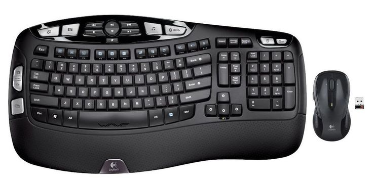 Logitech Mk550 Wireless Wave Keyboard and Mouse 44% off! #ad