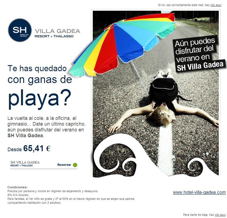 #shoteles email marketing by #idiso  Muy buena creatividad!