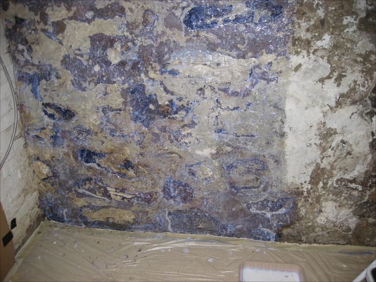 Unique Crumbling Basement Walls
