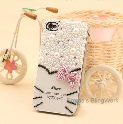 Hello kitty bling phone case