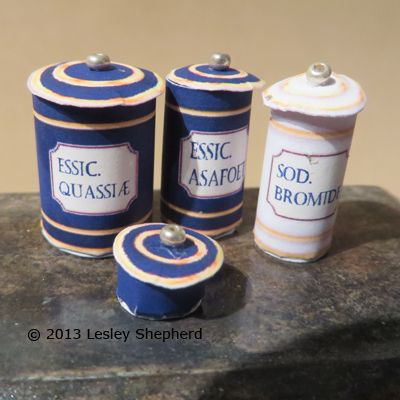 Make Miniature Apothecary Containers From Free Printables
