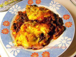 Μοσχάρι με μανιτάρια και τυρί στο φούρνο