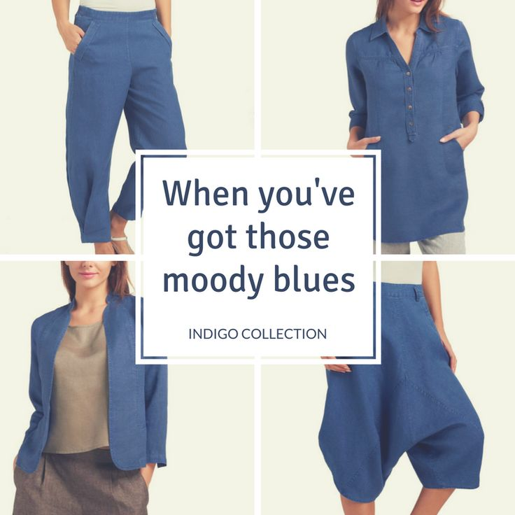Indigo Collection Women's Linen Clothing.