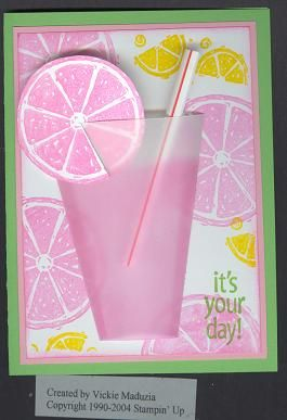 i love that they used a straw and the clear paper for the glass! i am so going to make this at one point or another!
