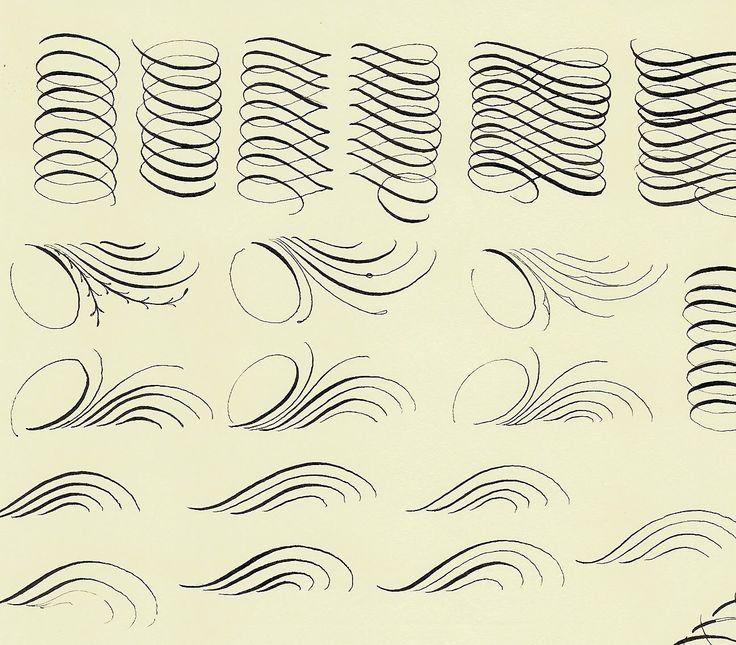 A Place To Flourish: Calligraphy Practice - Flourish Friday