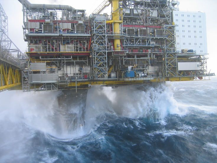 oil rigs in storms | Oil Rig Photos