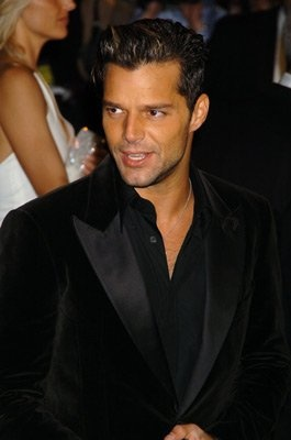 Ricky Martin is drop dead gorgeous.  And yes, I know he is gay.  So what! I think he is at the top of my list of hot guys!