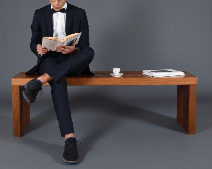 """Dai un'occhiata al mio progetto @Behance: """"Kitchen bench / Dining bench /Stool / Bench midcentury"""" https://www.behance.net/gallery/47657145/Kitchen-bench-Dining-bench-Stool-Bench-midcentury"""