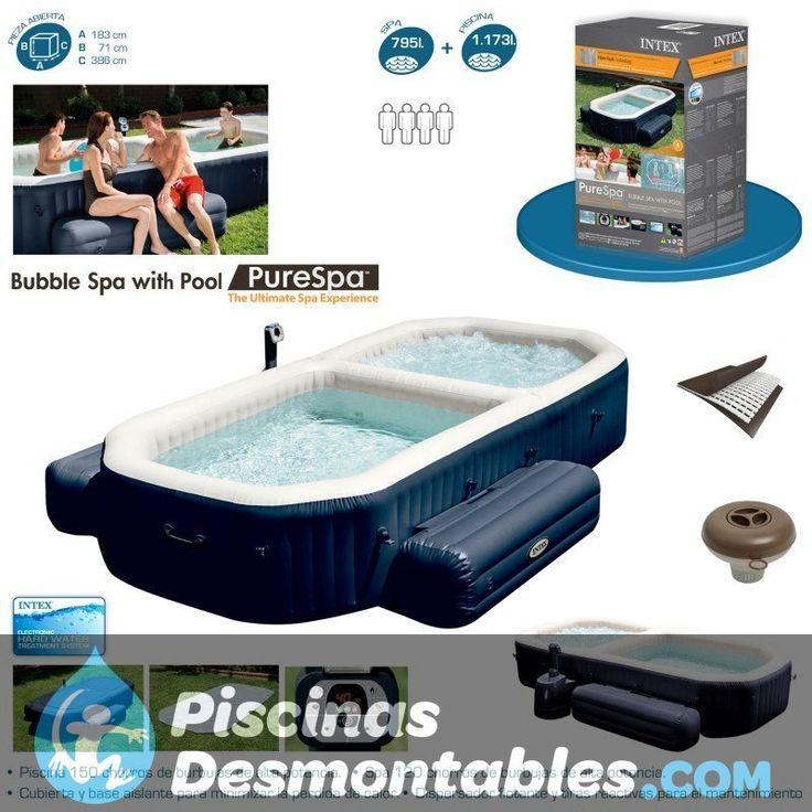 best 20+ spa intex ideas on pinterest | piscine intex, piscines