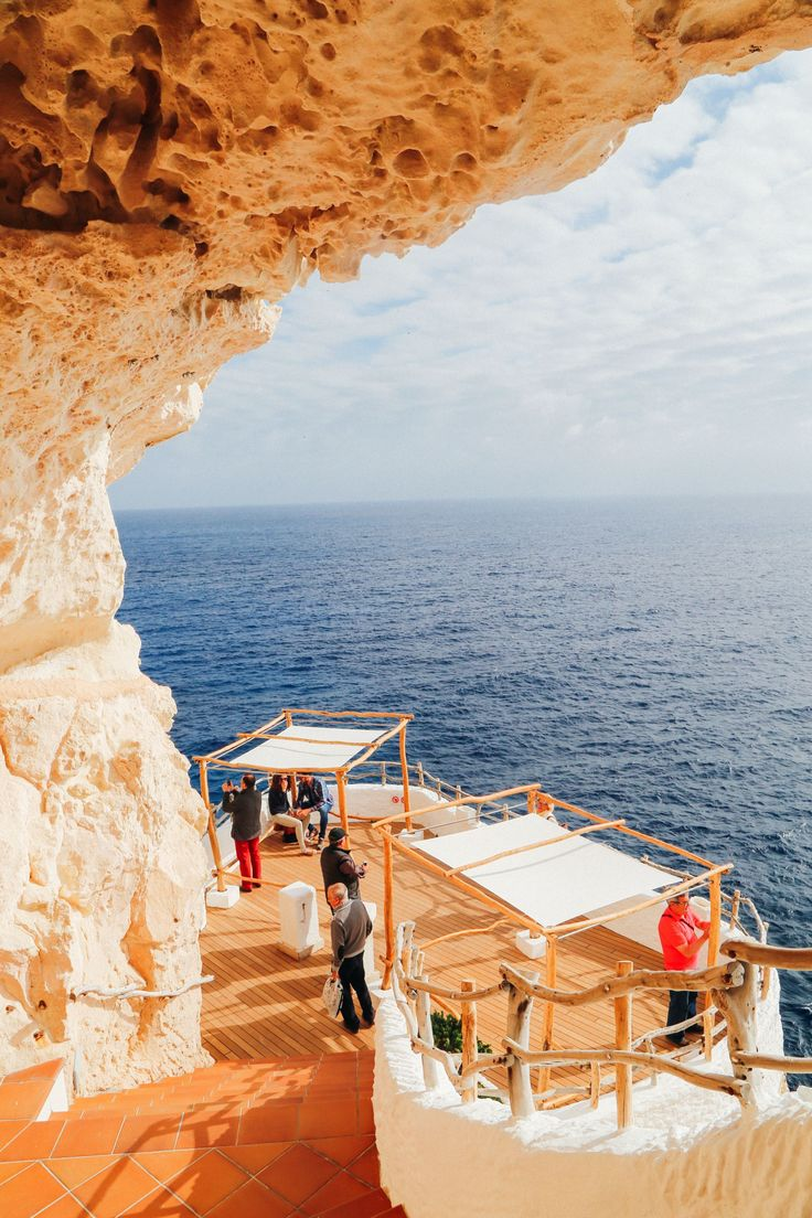 The Amazing Hidden Bar In The Caves Of Menorca, Spain