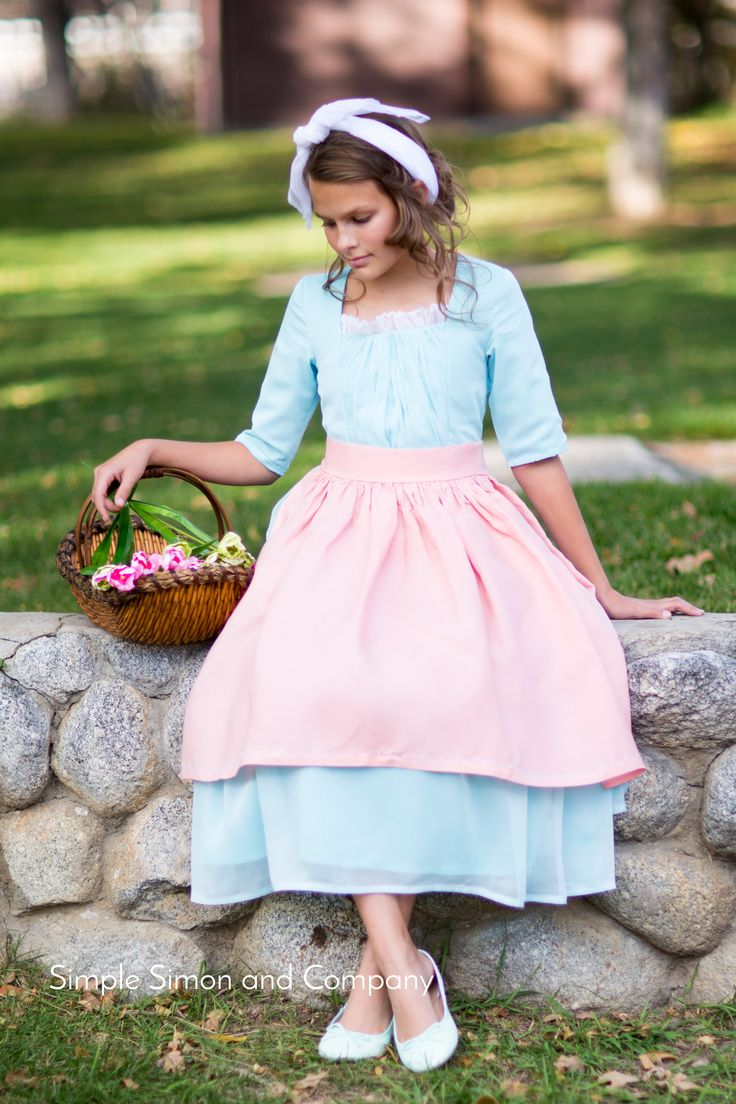 Make an Ella from Cinderella Costume for an unusual but beautiful Halloween Costume!