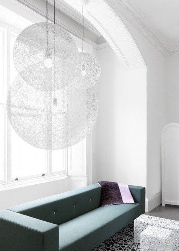 Suspension randomlight de Moooi / Suspension: 15 idées déco pour illuminer son intérieur - Marie Claire Maison