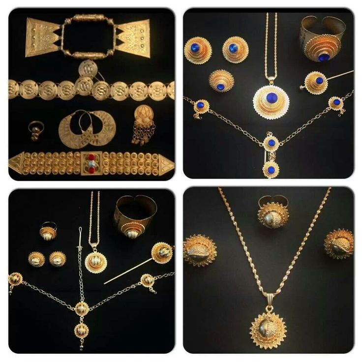 Eritrean jewelry. Groom gifts to his bride/wife