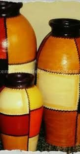 Resultado de imagen para jarrones pintados a mano                                                                                                                                                                                 Más