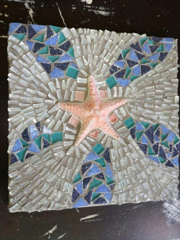Glorious starfish mosaic