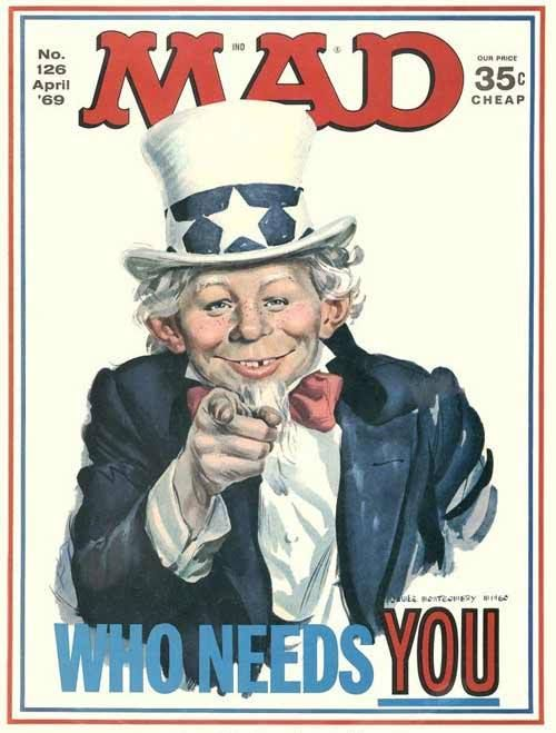 Mad Magazine | Uncle Sam | April 1969