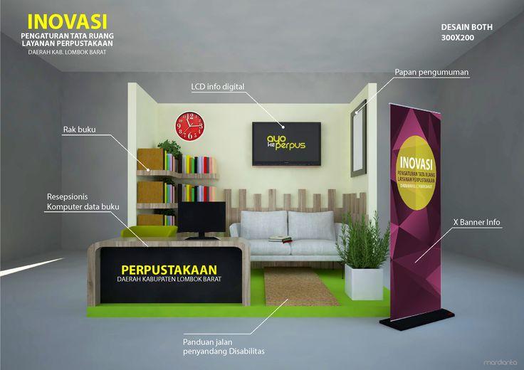 Desain Both Pameran Perpustakaan Kab. Lombok Barat