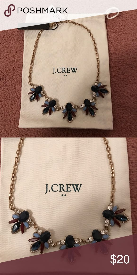 NWT J.Crew Jeweled Necklace Brand new with tags. Bag not included J. Crew Jewelry Necklaces