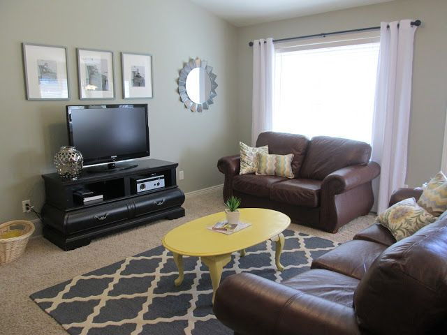 How to make-over a room on a budget. I like how this shows little things make a big difference.
