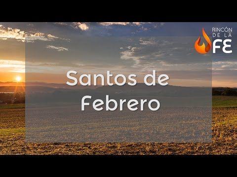 Santoral de Enero – Calendario santoral católico - YouTube