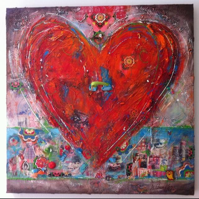 Mooi schilderij van Wilma Veen