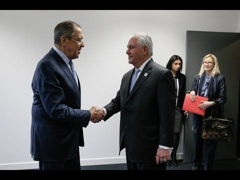Sergey Lavrov & Rex Tillerson start tough talks in Moscow, Russia amid i...