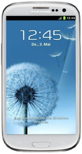 Samsung Galaxy S III/S3 GT-I9300 Factory Unlocked Phone - International Version (Ceramic White)