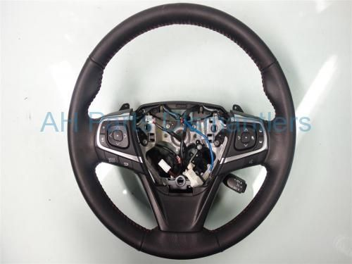 Used 2015 Toyota Camry STEERING WHEEL - BLACK  45100-06P70 4510006P70. Purchase from https://ahparts.com/buy-used/2015-Toyota-Camry-STEERING-WHEEL-BLACK-45100-06P70-4510006P70/117362-1?utm_source=pinterest