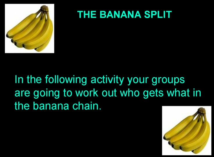 Banana split: this bonanza of free banana-trade activities, gets to the root of unfairness.