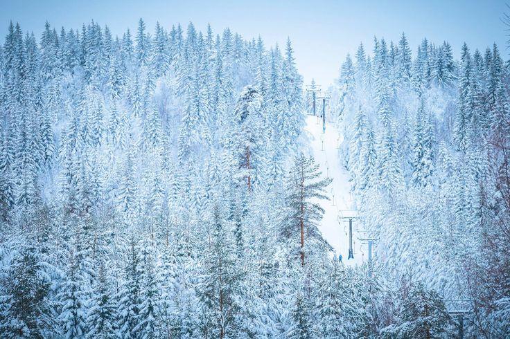 Liften till Akka, Ski Sunne - Fotograf jeppeblomgren.se