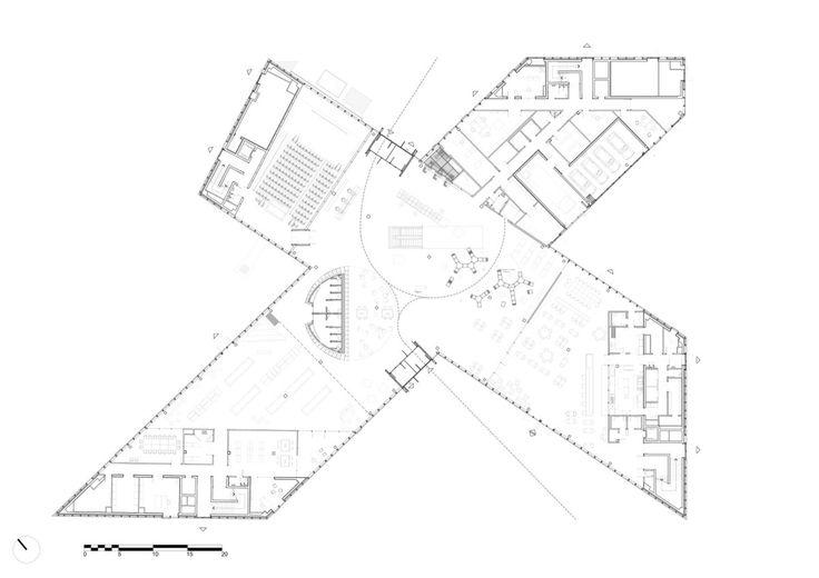 OMA . Bibliothèque Alexis de Tocqueville . Caen (29