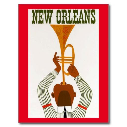 Carte postale de la Nouvelle-Orléans | Zazzle