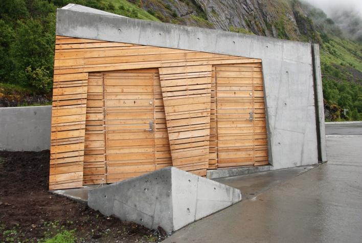 Tungeneset rasteplass og utsiktspunkt på Senja. Arkitekt: Code arkitektur as