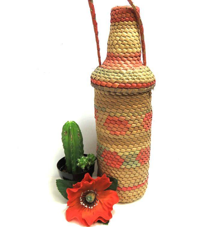 Apologise, Vintage wine basket bottle