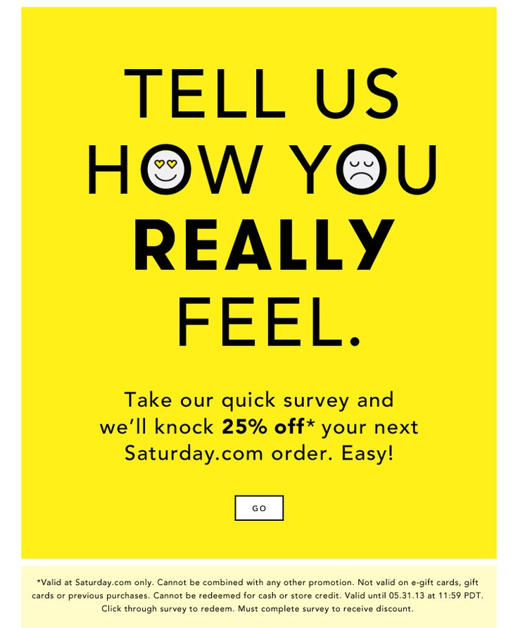 21 Best ♧ Survey Email♧ Images On Pinterest | Email Design