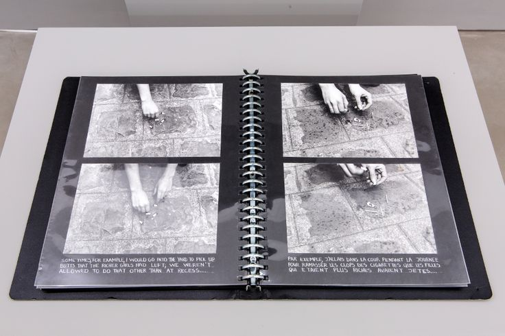 Nil Yalter (with Judy Blum, Nicole Croiset) La Roquette, Prison de Femmes (detail), 1974 video, photography, drawing