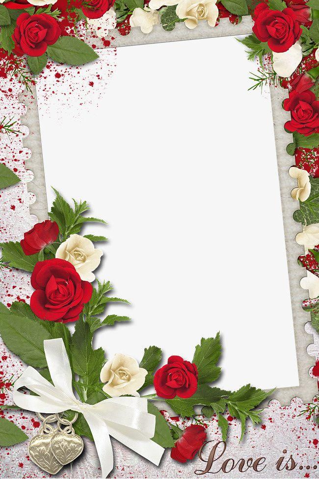 прошедшие рамка картинка с розами можно использовать непосредственно