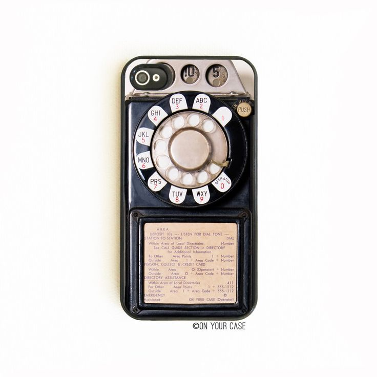 iPhone+4/4S+Case+Retro+Vintage+Payphone+by+onyourcasestore+on+Etsy,+$17.99